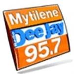 Logo da emissora Radio Mytilene DJ 95.7 FM