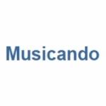 Logo da emissora Rádio Musicando