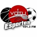 Logo da emissora Rádio Votu-Line Esportes