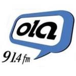 Logo da emissora Radio Ola 91.4 FM