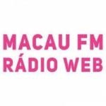 Logo da emissora Macau FM Rádio Web