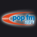 Logo da emissora Radio Pop FM 102.1