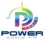 Logo da emissora Radio Power 100.2 FM