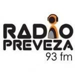 Logo da emissora Radio Preveza 93 FM