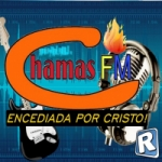 Logo da emissora Chamas FM