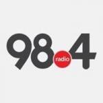 Logo da emissora Radio 98.4 FM