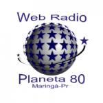 Logo da emissora Planeta 80