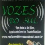 Logo da emissora Rádio Web FM Vozes do Sul