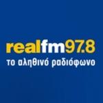 Logo da emissora Radio Real 97.8 FM