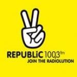 Logo da emissora Radio Republic 100.3 FM