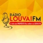 Logo da emissora Louvai FM