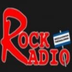Logo da emissora Radio Rock 104.7 FM