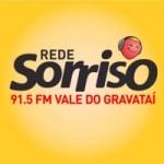 Logo da emissora Rádio Sorriso 91.5 FM