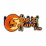 Logo da emissora Radio Safari 107.1 FM