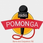 Logo da emissora Rádio Pomonga