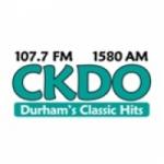 Logo da emissora Radio CKDO 107.7 FM