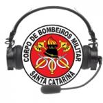 Logo da emissora Rádio Bombeiro - Florianópolis SC