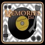 Logo da emissora Memories FM