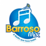 Logo da emissora Rádio Barroso Mix