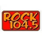 Logo da emissora Radio CKJX Rock 104.5 FM