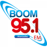 Logo da emissora Radio Boom Manizales 95.1 FM