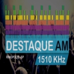 Logo da emissora Rádio Destaque 1510 AM