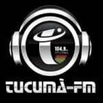 Logo da emissora Rádio Tucumã 104.9 FM