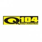 Logo da emissora Radio CKQV 104 FM