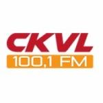 Logo da emissora Radio CKVL 100.1 FM