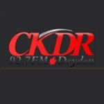 Logo da emissora Radio CKDR 92.7 FM