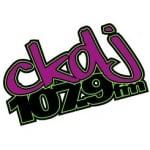Logo da emissora Radio CKDJ 107.9 FM