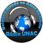 Logo da emissora Rádio Unac