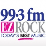 Logo da emissora Radio CKGB Kiss 99.3 FM