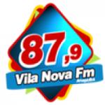 Logo da emissora Rádio Vila Nova 87.9 FM