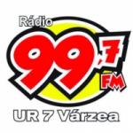 Logo da emissora Rádio 99.7 FM Ur 7 Várzea