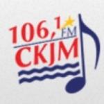 Logo da emissora Radio CKJM 106.1 FM