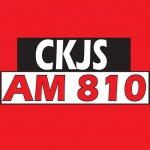 Logo da emissora Radio CKJS 810 AM