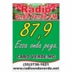 Logo da emissora Rádio Onda Verde 87.9 FM