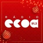 Logo da emissora Rádio Ecoa 91.3 FM