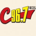 Logo da emissora Radio KCIL C 96.7 FM