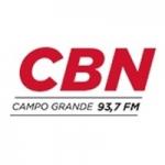 Logo da emissora Rádio CBN 93.7 FM