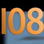 Logo da emissora Radio Super 108 FM