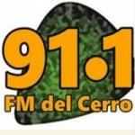 Logo da emissora Radio FM del Cerro 91.1