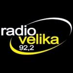 Logo da emissora Radio Velika 92.2 FM