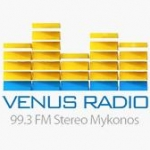 Logo da emissora Radio Venus 99.3 FM
