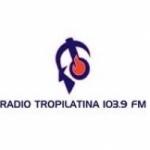 Logo da emissora Radio Tropilatina 103.9 FM