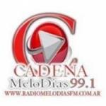 Logo da emissora Radio Melodias 99.1 FM