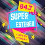 Logo da emissora Radio Super Estereo 94.7 FM