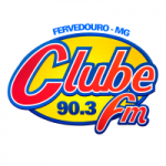 Logo da emissora Rádio Clube 90.3 FM