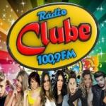 Logo da emissora Rádio Clube 100.9 FM